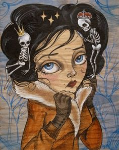 Wicked Halo, The Skull Queen by Sandi Calisto REMINDS ME OF MY FriEND KARINA