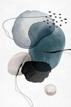 Colorful abstract watercolor circles design vector premium image by rawpixel com sasi - Watercolor Circles, Abstract Watercolor Art, Watercolor Artists, Water Color Abstract, Abstract Art Blue, Simple Watercolor, Watercolor Ideas, Watercolor Drawing, Abstract Oil