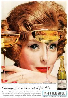 Red lips, red polish, and Champagne equals a great party!