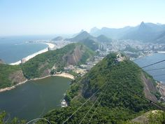 Looking back at Rio de Janeiro from the Sugarloaf Mountain cable car. [OC]    Click on the photo to discover the most incredible destinations with us :)