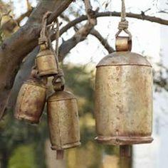 Gold Temple Bells
