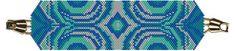 Water Bracelet (Peyote or Brick Stitch) PDF
