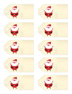 Our little gift to you this Christmas! Free Printable Christmas Gift Tags!! Several designs available, so come check them out!