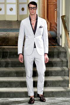 Michael Bastian Colección primavera verano 2014 en New York Fashion Week.