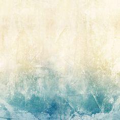 Mural de papel pintado Casadeco colección So Wall 2 difuminado tono beige y azul SWL27286313
