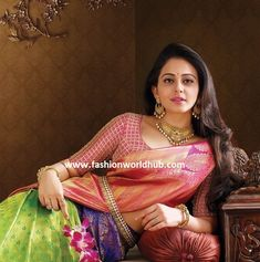 Breathtaking Blouse designs by Bhargavi kunam for RS Brothers & South india Shopping mall Ad Campaign. | Fashionworldhub