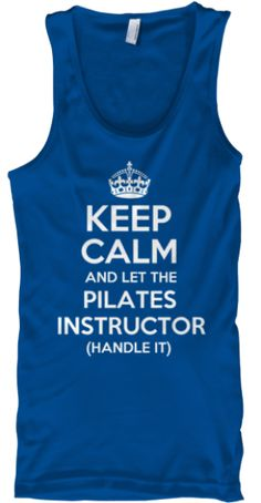Let The Pilates Instructor Handle It