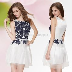 Rhinestones Ruffles Crystal Beaded Light Blue Evening Dress beaded tank dress