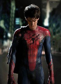 Andrew Garfield as Spider-Man. Swoooooooon!