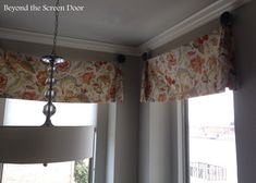 Pleated Bell Valance
