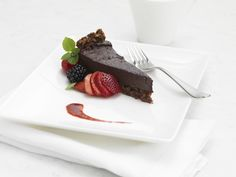 Chocolate delight from the Fairmont Hotels and Resorts LC Plus menu thank you @FairmontHotels (vegan friendly)
