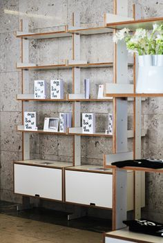 Modular Shelving, Shelving Systems, Interior And Exterior, Shelves, Straight Lines, Ferrari, Opportunity, Berlin, Interiors