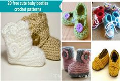 Crochet Baby Booties The Most Adorable Patterns | The WHOot