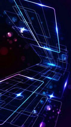 Wallpaper of Blue Art Line Textures Patterns for mobile phone Free Flower Wallpaper, Cool Wallpaper, Mobile Wallpaper, Stripped Wallpaper, Abstract Iphone Wallpaper, Wallpaper Backgrounds, Iphone Wallpapers, Technology Wallpaper, Cyberpunk Art