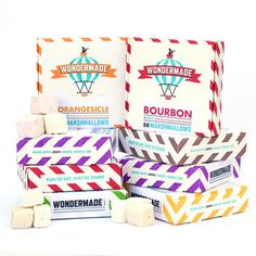 OMG imagine smores with bourbon or orangesicle marshmallows! Rice crispy treats will never be the same! Oh the possibilities!  Gluten-Free Pack 8Pk, $45, now featured on Fab.