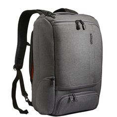 Amazon.com  eBags Professional Slim Laptop Backpack (Heathered Graphite)   Clothing Business e9058482a5
