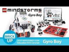 Gyro Boy - LEGO 45544 MINDSTORMS Education EV3 Core Set - YouTube