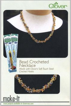 Make it Monday - Bead Crocheted Necklace