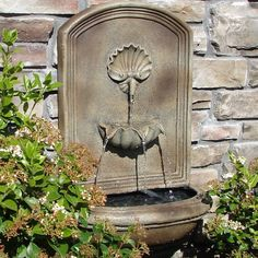 Free Shipping and No Sales Tax on The Napoli Outdoor Wall Fountain from the Outdoor Fountain Pros.