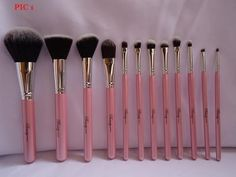 Beauty Cosmetics 12 Brush Set Review..