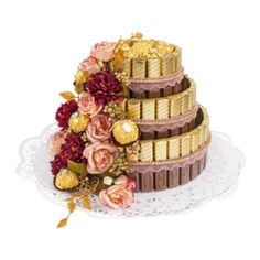 Ideen mit Herz Discover creative craft ideas now and craft decorative cakes for every occasion! Dairy Milk Chocolate Images, Chocolate Candy Brands, Chocolate Desserts, Image Gifts, Chocolate Bouquet, Candy Gifts, Homemade Chocolate, Creative Crafts, Homemade Gifts