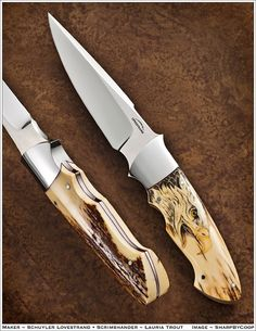 Photos - SharpByCoop's Gallery of Handmade Knives Cool Knives, Knives And Swords, Trench Knife, Engraved Pocket Knives, Best Pocket Knife, Good Pocket Knives, Knife Art, Edc Knife, Fixed Blade Knife