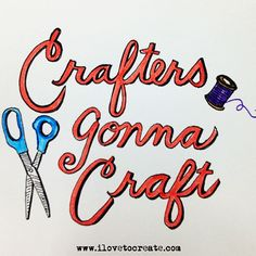 A collection of 20 great crafty quote images to share! (Great to print and frame to decorate your craft room or to inspire a friend!)