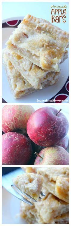 Homemade Apple Bars
