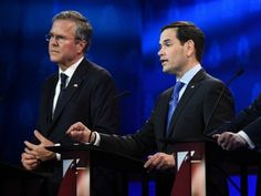 Bush War Intensifies With Ad Hitting Marco's Choice To Fundraise Skipping Security Briefings