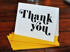 """We all know how important it is to say """"Please"""" and """"Thank You"""" and now you can with 30+ modern thank you card ideas!"""