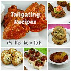 #tailgatingrecipes round up. The Tasty Fork #gameday.