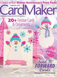 CardMaker Winter 2015. Order here: https://www.anniescatalog.com/detail.html?prod_id=127955