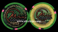 Las Vegas Casino Chip of the Day is a $25 Max Casino Grand Opening you can get here http://www.all-chips.com/ChipDetail.php?ChipID=17112 I will have more of the $5s G.O. chips tomorrow