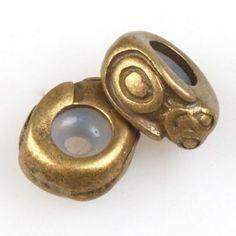 15x 151472 Wholesale Bronze Monkey Rubber Alloy Stopper Bead Fit Charms Bracelet