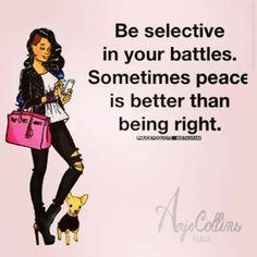 ~ I choose Peace ~