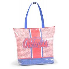 Ole Miss Rebels Game Day Tote Bag <3