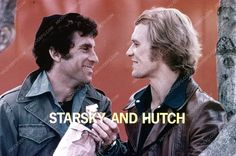 David Soul Paul Michael Glaser cool TV Starsky and Hutch promo pic 35m-5674