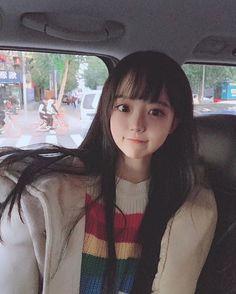 Cute Japanese Girl, Cute Korean Girl, Cute Asian Girls, Beautiful Asian Girls, Cute Girls, Cute Kawaii Girl, Cute Girl Face, Kawai Japan, Cartoon Girl Images