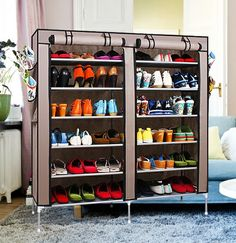 Multi-Tier Anti-Dust Waterproof Cover Shoe Rack Organizer Storage Shelf at ONLY S$32.90 Order Now!! http://8deals.com.sg/?product=multi-tier-anti-dust-waterproof-cover-shoe-rack-organizer-storage-shelf