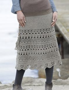 Three Amazing Cozy Lady Crochet Skirts S-XXXL Size [Free Easy Patterns] | Your…                                                                                                                                                                                 More