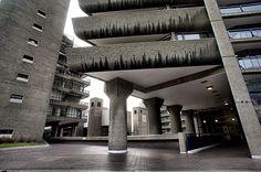 The Barbican Centre London Symphony Orchestra, Concrete Texture, Barbican, Concert Hall, Brutalist, London City, Elizabeth Ii, Large Art, Bauhaus