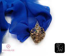 The Lost World, My Precious, Diana, Jewelery, Brooch, Design, Fashion, Jewlery, Moda