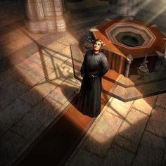 Emperor Martin of Cyrodill Elder Scrolls Races, Elder Scrolls Lore, Elder Scrolls Online, Dungeons And Dragons Characters, D D Characters, Character Concept, Character Art, Concept Art, Oblivion