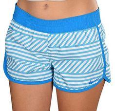 NWT Nike West Reversible Beach Shorts Size L Gamma Blue 637468-430