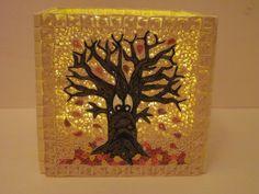 Video - Quilling Herbst-Teelicht / Quilling Autumn Candle Holder (Tealight) (Tutorial)