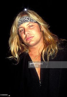 Vince Neil during Vince Neil at Club USA - 1993 at Club USA in New York City, New York, United States.