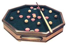 Tabletop Bumper Pool Game Plan