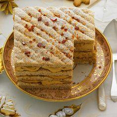 Hazelnut-Praline Torte Recipe