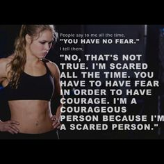 Ronda Rousey - Fear & Courage