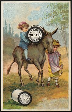 Clark's Mile-End 24 Spool Cotton [front] | Flickr - Photo Sharing!